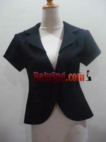 Baju Blazer hitam front