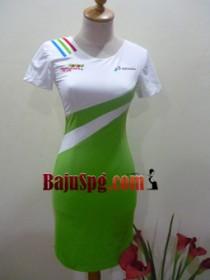 baju spg pertamina pertamax hijau papua 1 front