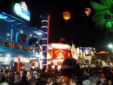 Keceriaan Pekan raya Jakarta