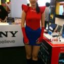 baju seragam spg sony spiderman 2012 2