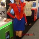 baju seragam spg sony spiderman 2012 3