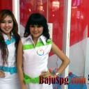 baju seragam spg telkom vision 4 2012
