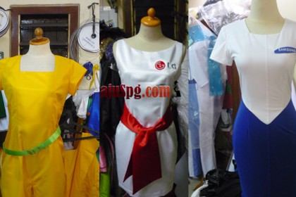 baju seragam SPG telekomunikasi