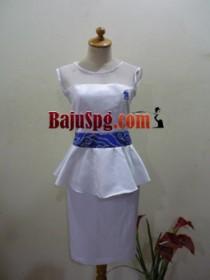 Corak Batik pada Baju Seragam SPG PSN