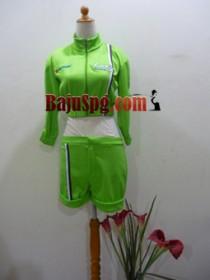 Seragam SPG Suzuki lets hijau front