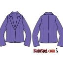 Jasa Pembuatan Baju Seragam Blazer Menard