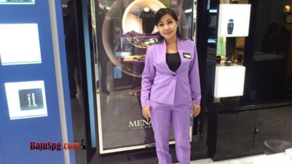 Baju Seragam SPG Blazer Menard di Grand Indonesia Jakarta