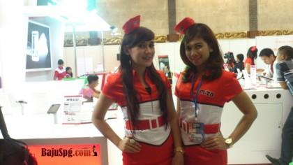 Baju Seragam SPG Mito di  ICS 2013 JCC