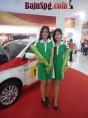 Baju Seragam SPG Toyota di PRJ Kemayoran 2013