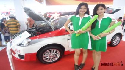Baju Seragam SPG Toyota di PRJ (Pekan Raya Jakarta) 2013