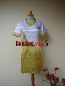 Baju Seragam SPG Gold Bullion front