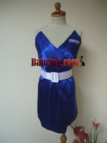 Clarion Dress Blue front