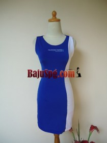 Baju Seragam SPG Perfection Biru front