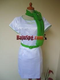 Baju Seragam SPG Putih Oppo front