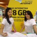 Baju Seragam SPG Indosat Event Margo City