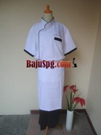 Baju Seragam Cook Poke Sushi front