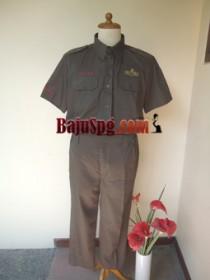 Baju Seragam Kemeja Mutiara Bekasi front