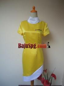 Baju Seragam SPG Indosat front