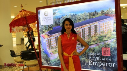 Event Senayan City Baju Seragam SPG Meritus Bali Seminyak