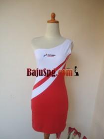 Baju Seragam SPG Merah2 Pertamina front