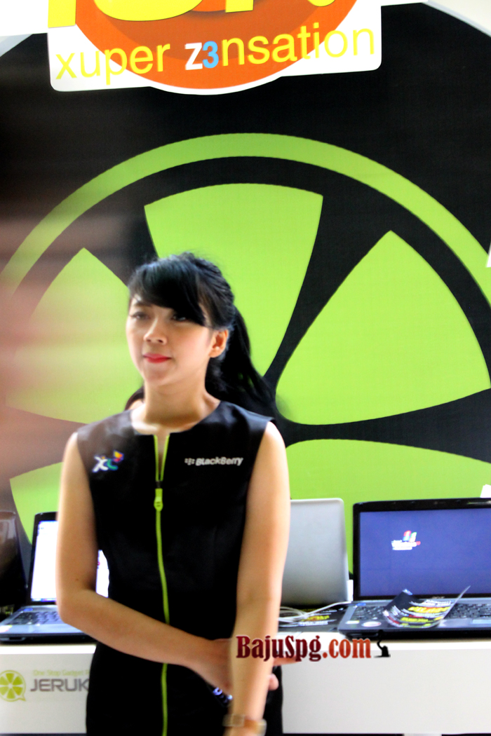 Baju seragam SPG Blackberry Jakarta Z3