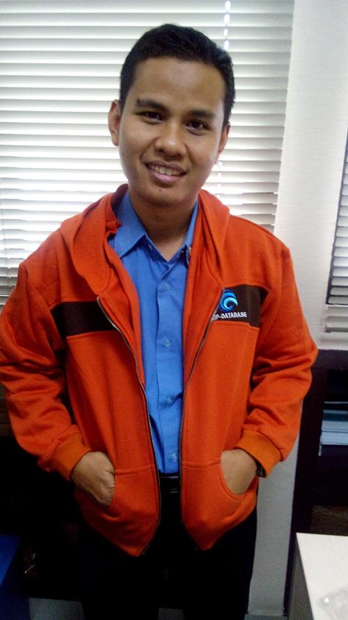 Salah satu klien jasa Pembuatan Jaket Kementrian kami