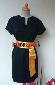Baju Seragam SPG Carrefour (Beauty Advisor) Kuning front