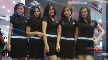 Jasa Seragam SPG Suzuki di Event PRJ Kemayoran 2014