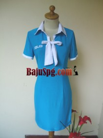 Baju Seragam SPG ASUS front