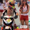 Baju Umbrella Girl Honda Racing Championship