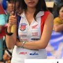 Baju Umbrella Girl Honda Racing Championship Malang 2