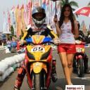 Baju Umbrella Girl Honda Racing Championship Malang 4