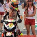 Baju Umbrella Girl Honda Racing Championship Malang 5