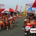 Baju Umbrella Girl Honda Racing Championship Malang 6