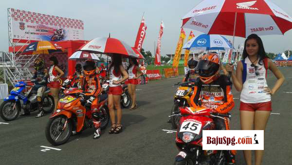 Baju Umbrella Girl Honda Racing Championship Malang 6