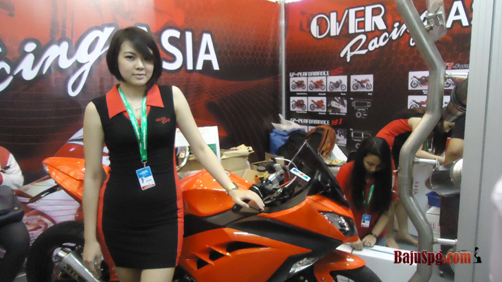 Baju SPG Over Race Event IMS JCC 2014