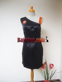 Baju Seragam Hitam SPG Hibola front