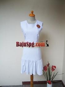 Baju Seragam Putih SPG Hibola front