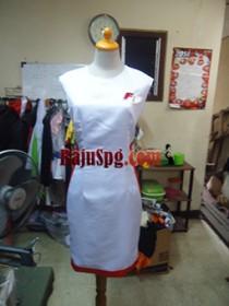 Baju Seragam SPG F1 front prog