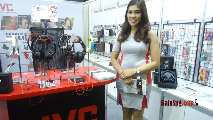 Baju Seragam SPG JVC dan Toshiba ada di Mega Bazaar 2015