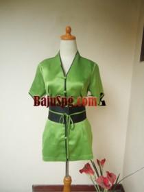 Baju Seragam SPG Hijau Mandiva Spa front