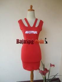 Baju Seragam SPG Motul front
