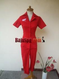 Baju Seragam SPG HONDA Merah front