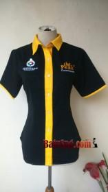 Baju Seragam Kemeja SPG The Peak front