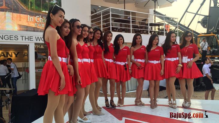 Baju Seragam Sany Event Jiexpo