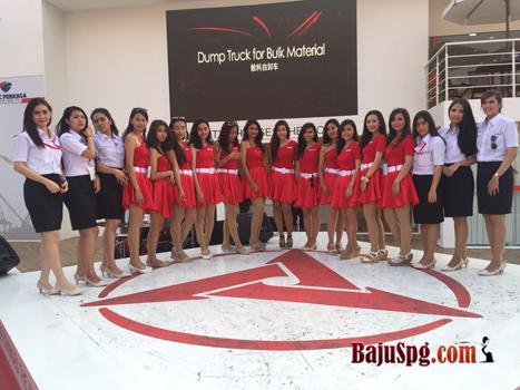 Seragam Kantor SPG Sany Jakarta