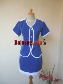 Baju Seragam SPG Classic Spa 2 front