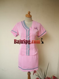 Baju Seragam SPG Classic Spa front