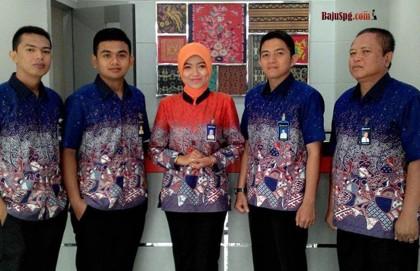 Seragam Kantor Batik Jakarta Pusat