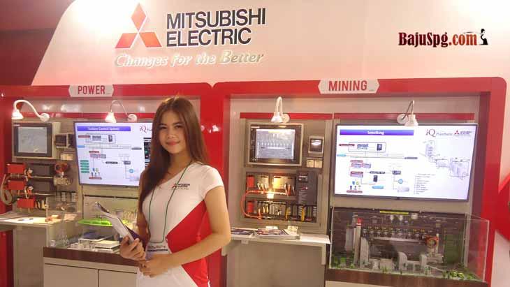 Baju-Seragam-SPG-Mitsubishi-Electric-JIExpo-Jakarta